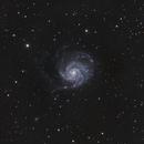 M 101 - HaLRGB,                                James E.