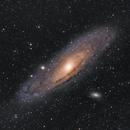 M31 (Messier 31) Andromeda Galaxy and M110,                                Anurag Wasnik