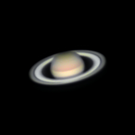 Saturn - very low in the Sky,                                Nico Augustin