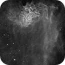 IC405 Flaming Star nebula in Ha,                                Jean-François Dou...