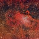 M16 Nebulosa del Aguila,                                Raúl López