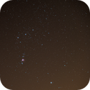 Orion with M42 from red/white zone,                                Felix