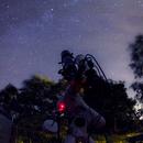 Work in progress on Nord America Nebula,                                Andrea Pistocchini - pisto92