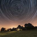 Star Trails above Bohemian Moravian Highland, CZ,                                Vladimir Machek