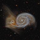 Whirlpool Galaxy (M51),                                KuriousGeorge