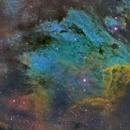Pelican Nebula,                                fmcmullan