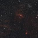 NGC 7635,                                Cyril MATHIEU