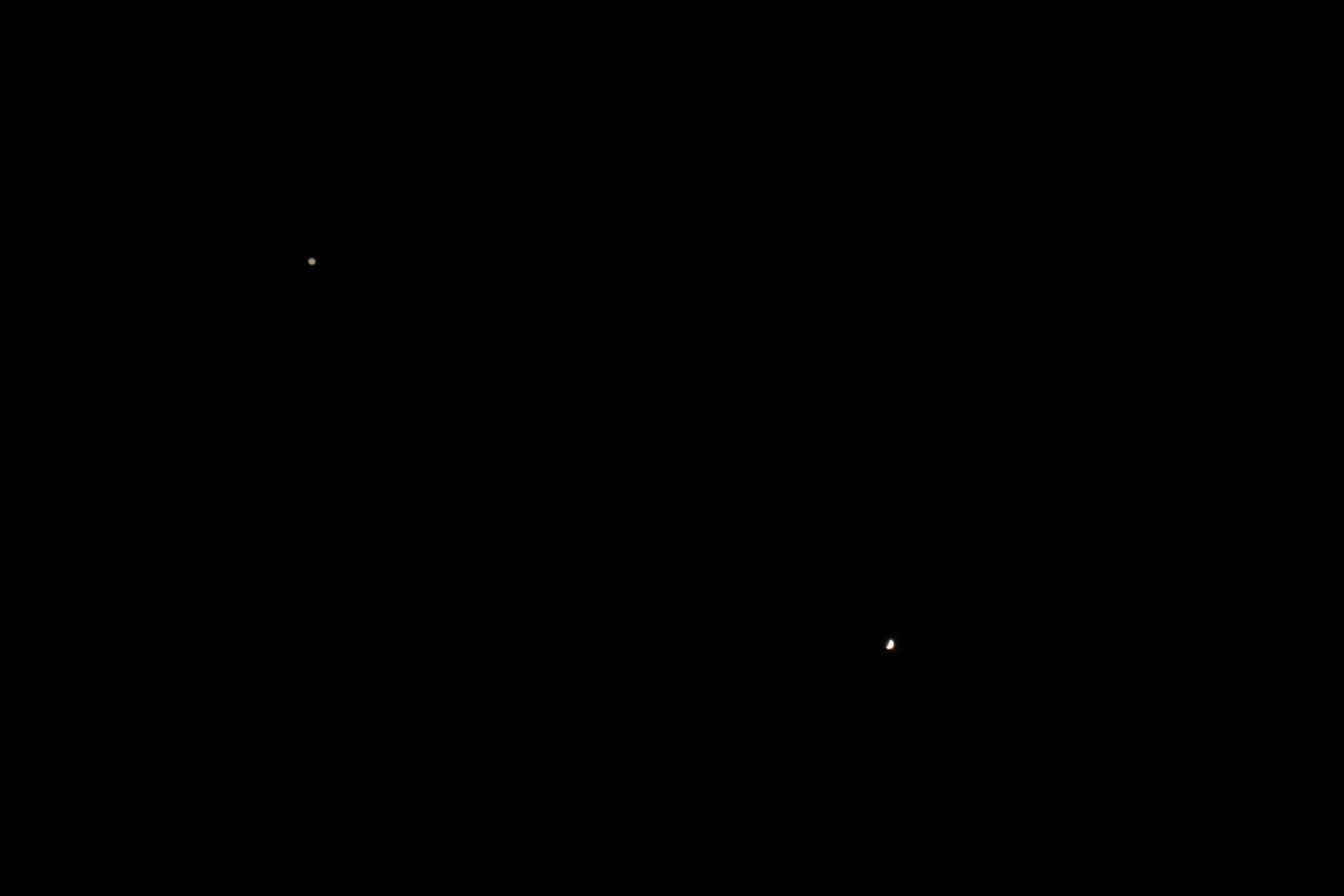 Jupiter and Venus (29 june 2015, 21:12),                                Star Hunter