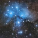 M45 Pleiadi,                                Lorenzo Palloni