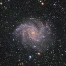 NGC 6946 Fireworks Galaxy (Cyg/Cep) in LRGB,                                Ben Koltenbah