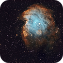 NGC 2175 Monkey Head Nebula SHO - Esprit 120 - ASI1600MM,                                Rowland Archer