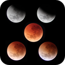 Lunar eclipse montage,                                DiscoDuck