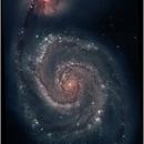M51 Hubble processing,                                H.D.