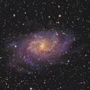 M33 - HaLRGB,                                HomerPepsi