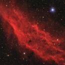 NGC 1499 - The California Nebula in HaRGB,                                Jan Beckmann