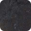 Orion and Geminids,                                SkyandSpace