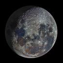 Colourful Waning Moon,                                MoonBoy