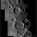 Dos cadenas de cráteres lunares,                                SERGIT
