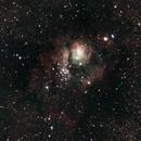 The Lagoon Nebula (M8),                                estabrook