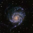 M101 - Pinwheel Galaxy,                                Chris Massa