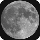 GIF of ISS and Super Blue Moon,                                Dan Goelling