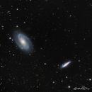 M81 Bode galaxy & M82 Cigar galaxy,                                Dmitri Gostev