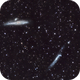 Whale Galaxy with Enhanced H-Alpha,                                Robert Q. Kimball