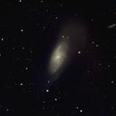 M106 Spiral Galexy in Ursa Major,                                jerryyyyy