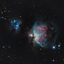 M42 & NGC1977,                                Josh Hearne