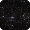 NGC 884/869 - a much better fit,                                Tom Gray