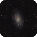 M33 Triangulum Galaxy,                                Magnus Edbäck