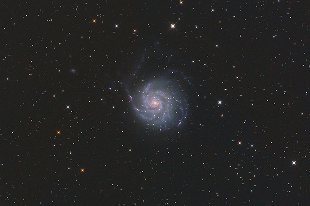 M101 Pinwheel Galaxy,                                Norris Coda