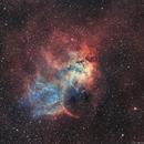 Sharpless 132 - Bicolor Ha/OIII,                                Nicolas Kizilian