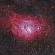 M8 - The Lagoon Nebula,                                CrestwoodSky