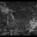 Propeller Nebula (DWB 111, 119) & Co in Ha,                                Göran Nilsson