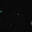 M97 Owl Nebula & M108 Surfboard Galaxy,                                Greg Derksen