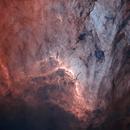 IC 5070 Starless Bicolor HOO,                                Martin Voigt