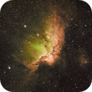 NGC 7380  - The Wizard Nebula,                                Arun H.