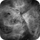 NGC 3372 The Carina Nebula in Ha,                                Cory Schmitz