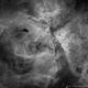 NGC 3372 The Carina Nebula in Ha,                                Cory Schmitz