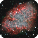 Crab Nebula (one decade time-lapse movie),                                DetlefHartmann