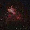 M17 nebula,                                RCompassi
