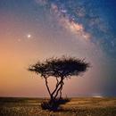 Milky Way over abandoned lands,                                Kurt Bozkurt