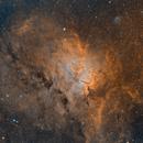 NGC6820, NGC6823, and SH 2-86,                                Tim Hutchison
