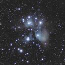 M45 - The Pleiades,                                Victor Van Puyenbroeck