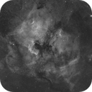 NGC7000 Ha,                                Cedric BEGUE