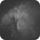 NGC 281 - Pacman Nebula (My First AP Attempt!),                                akleffner