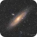 M31 Andromeda Galaxy Redcat shoot,                                Niko Geisriegler