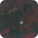 Rigel and the Witch Head nebula,                                gibran85