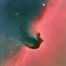 Horsehead Nebula, a Ha,LRGB picture,                                Niels V. Christensen